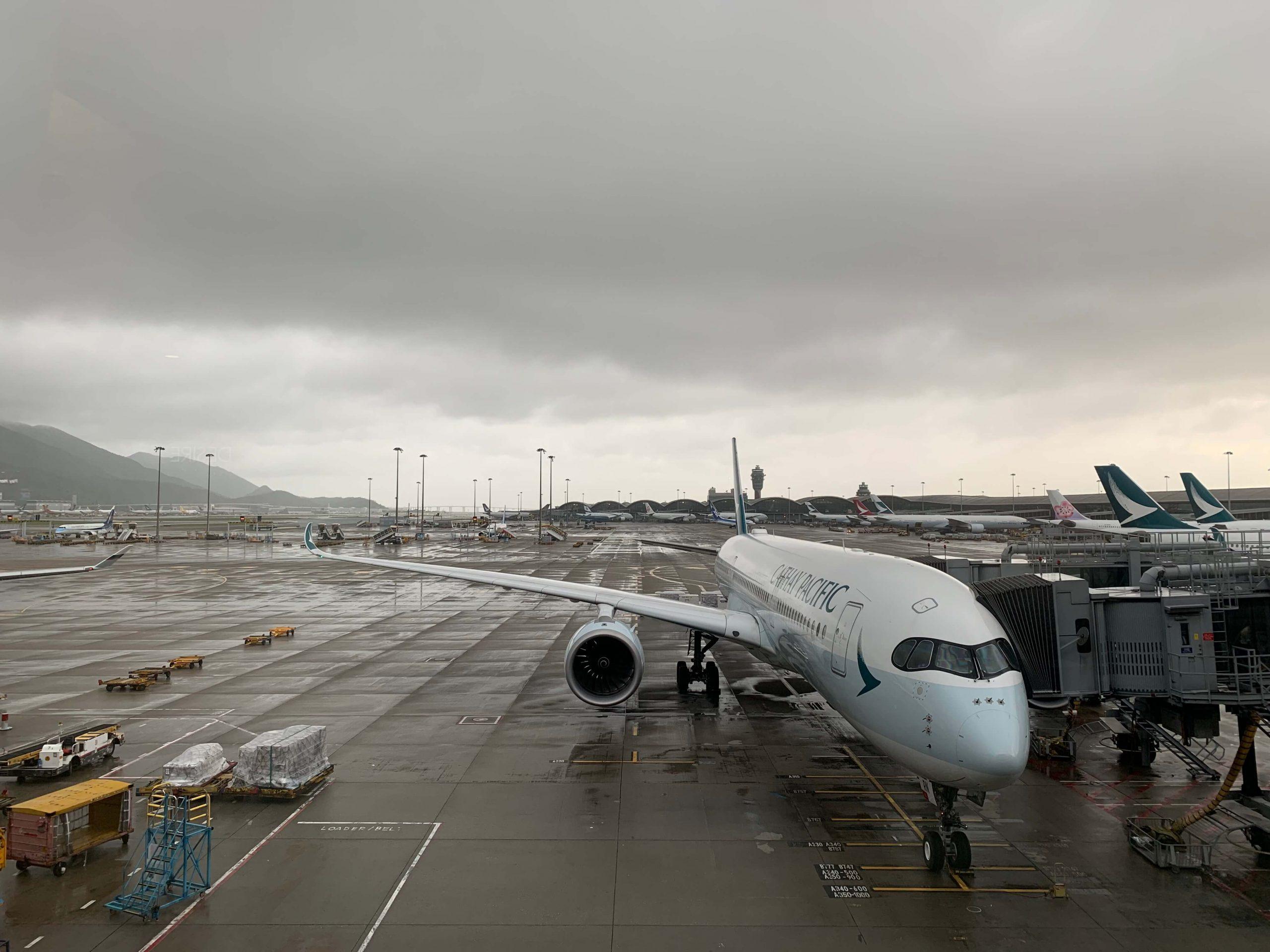 国泰航空A350客机